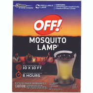 Off 76087 Repellent Mosquito Lamp