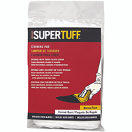 Trimaco 10101 Supertuff Staining Pad Sponge With Terry Cloth Cover