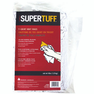 Trimaco 10852 Super Tuff White Knit Rags Block