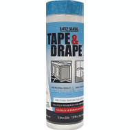 Trimaco 396490 Easy Mask 8 Foot Tape & Drape Drop Cloth