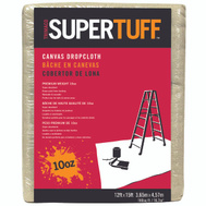 Trimaco 51123 Supertuff Cloth Drop Canvas Hvyd 12X15ft