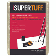Trimaco FB3 Supertuff 12 Foot X15 Foot Felt Back Dropcloth