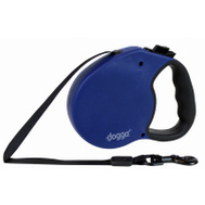 Pet Adventures DGO RLSH BL SM 14 Foot BLU SM Retrac Leash