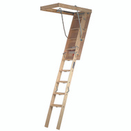 Louisville Ladder FTS224P Premium Series 8 Foot 9 Inch By 22 Inch Wood Attic Stair