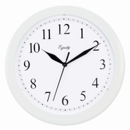 La Crosse 25201 10 Inch White Wall Clock