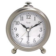 La Crosse 25655 SLV Table Alarm Clock