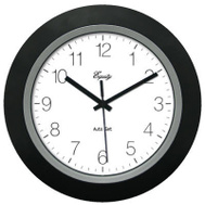 La Crosse 40222B 10 Inch BLK Auto Set Clock
