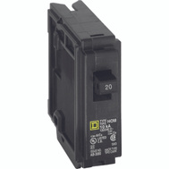 Square D HOM120CP Homeline 20 Amp Single Pole Circuit Breaker