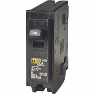 Square D HOM140CP Homeline 40 Amp Single Pole Circuit Breaker