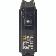 Square D HOM115C Homeline Circuit Breaker 1Pole 1In 15A 1 Pack
