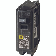 Square D HOM120C Homeline Circuit Breaker 1Pole 1In 20A 1 Pack