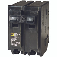 Square D HOM250C Homeline Circuit Breaker Hom 2p 1in 50a