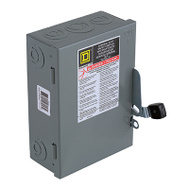 Square D D221NCP 30 Amp Gd Safety Switch