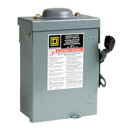 Square D D211NRBCP 30 Amp Outdoor Safe Switch