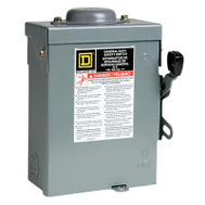 Square D D221NRBCP 30 Amp Outdoor Safe Switch