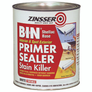 Zinsser 00904 B-I-N Shellac Based Primer Quart