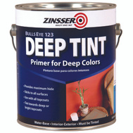 Zinsser 02031 Bulls Eye 1-2-3 Deep Tint Primer Gallon Water Based