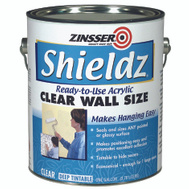 Zinsser 02101 Shieldz Clear Acrylic Water-Based Wall Size Makes Paperhanging Easier Gallon