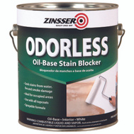 Zinsser 03951 Odorless White Oil-Base Stain Blocker Gallon