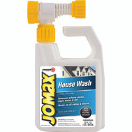 Zinsser 60180 Jomax House Wash Removes Mildew & Algae Stains 32 Ounce Hose End Sprayer