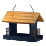 Woodlink 24003 12 Inch Blu Wd Bird Feeder