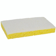 3M 63 Scotch Brite Scrubbing Sponge Light Duty Cleansing 3-1/2 Inch By 6-1/4 Inch
