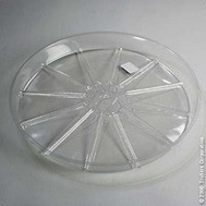 Midwest Air Technology VS14 Outdoor Seasons 14 Inch Clr Plant Saucer
