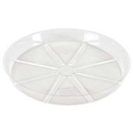 Midwest Air Technology VS14VUS Outdoor Seasons Clear Plastic Saucer 14 Inch By 1-1/4 Inch