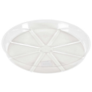Midwest Air Technology VS8VUS Outdoor Seasons 8 Inch Clear Plastic Saucer