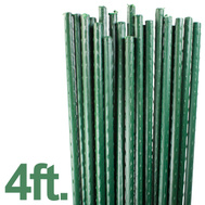 Midwest Air Technology ST4 Outdoor Seasons 4 Foot By 5/16 Inch Diameter Steel Core Sturdy Plant Stake