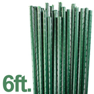 Midwest Air Technology ST6 Outdoor Seasons 6 Foot By 7/16 Inch Diameter Steel Core Sturdy Plant Stakes