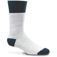 Wigwam Mills F2020-207-LG Large Gray Navy Boot Sock