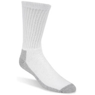 Wigwam Mills S1221-44H-MD 3 Pack Mens Medium White Crew Sock