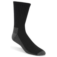 Wigwam Mills S1221-052-MD 3 Pack Men's Large Black Work Sock