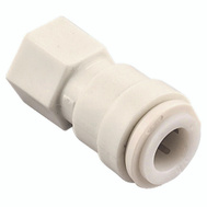 Watts Water PL-3060 Connector 1/4Od X 1/4Fp (Bag Of 1)