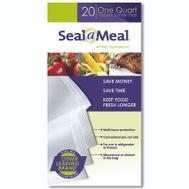 Seal A Meal VSB4-6 Bags For Seal A Meal 22 1Qt