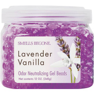 Smells Begone 52612 12 Ounce Lavender Vanilla Odor Neutralizing Gel Beads