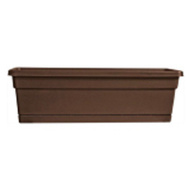 True Temper WB2412CO Southern Patio 24 Inch Cocoa Wind Planter