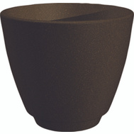 True Temper RMT1604GB Southern Patio Planter Granite Brown 15In