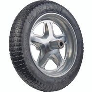 Ames SFFTCC Wheelbarrow Tire Fl-Free Spoke