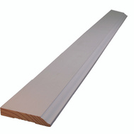 Alexandria Moulding 0W623-93096C1 9/16 By 3 1/4 Inch By 8 Foot Primed Base