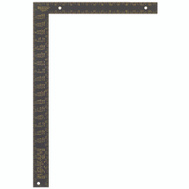 Johnson Level CS7 16 By 24 Inch Aluminum Rafter Square