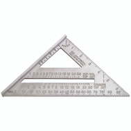 Johnson Level RAS-1 Johnny Square Aluminum Rafter Angle Square 7 Inch