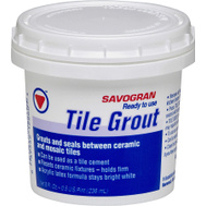 Savogran 12860 Ready To Use Tile Grout 1/2 Pt