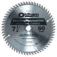 Oldham B7254760-10 7-1/4 Inch 60 Tooth Carbide Blade