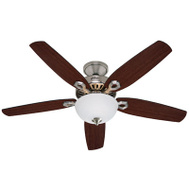 Hunter Fan 53090 Builder Deluxe Fan Ceil 52In 5Bld/2Lt Cand Bn