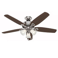 Hunter Fan 53237 Builder Plus Fan Ceil 52In 5Bld/3Lt Cand Bn
