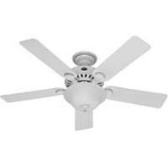 Hunter Fan 53251/28722 Pros Best Fan Ceil 52In5bld/1Lt 5Min Wht