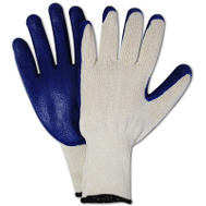 Magid Glove 336TL12 Latex Palm Gloves Large 12 Pack