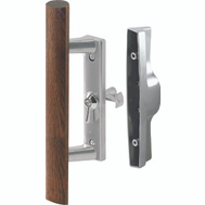 Prime Line C1018 14186 Universal Sliding Glass Door Aluminum Handle Lock Kit